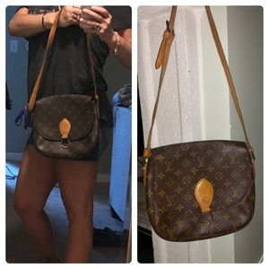 AUTHENTIC LOUIS VUITTON ST. CLOUD GM SHOULDER BAG
